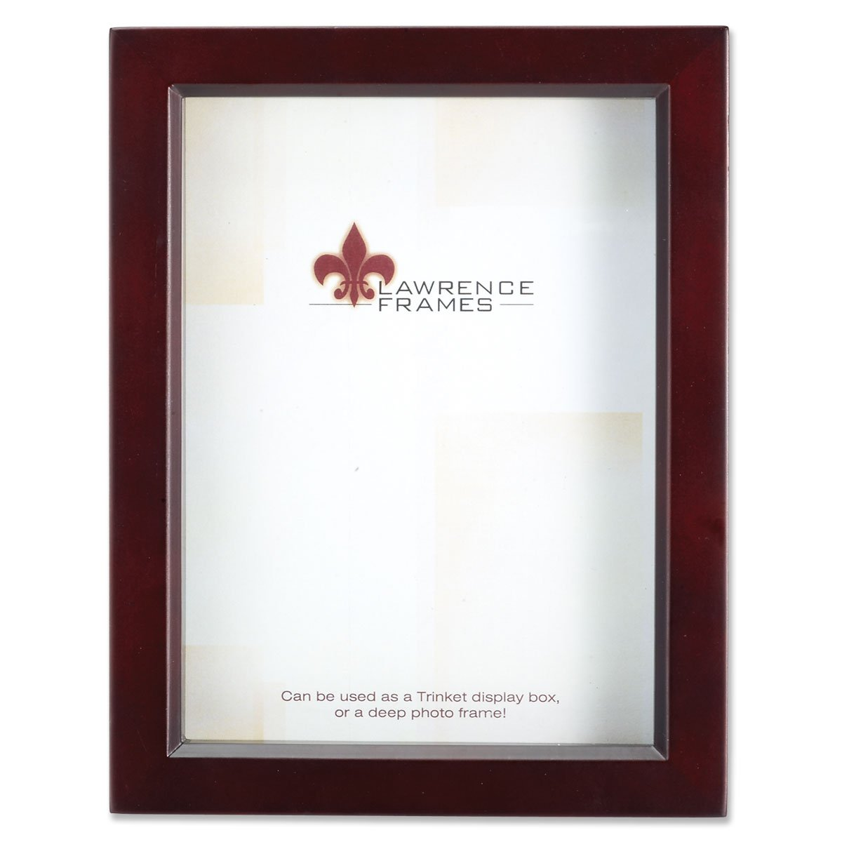 Lawrence Frames Espresso Wood Treasure Box Shadow Box Picture Frame, 8 by 10-Inch 795180