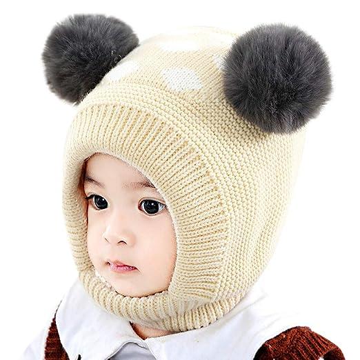 Amazon.com  Goldweather Newborn Pom Hat 48538d35a204