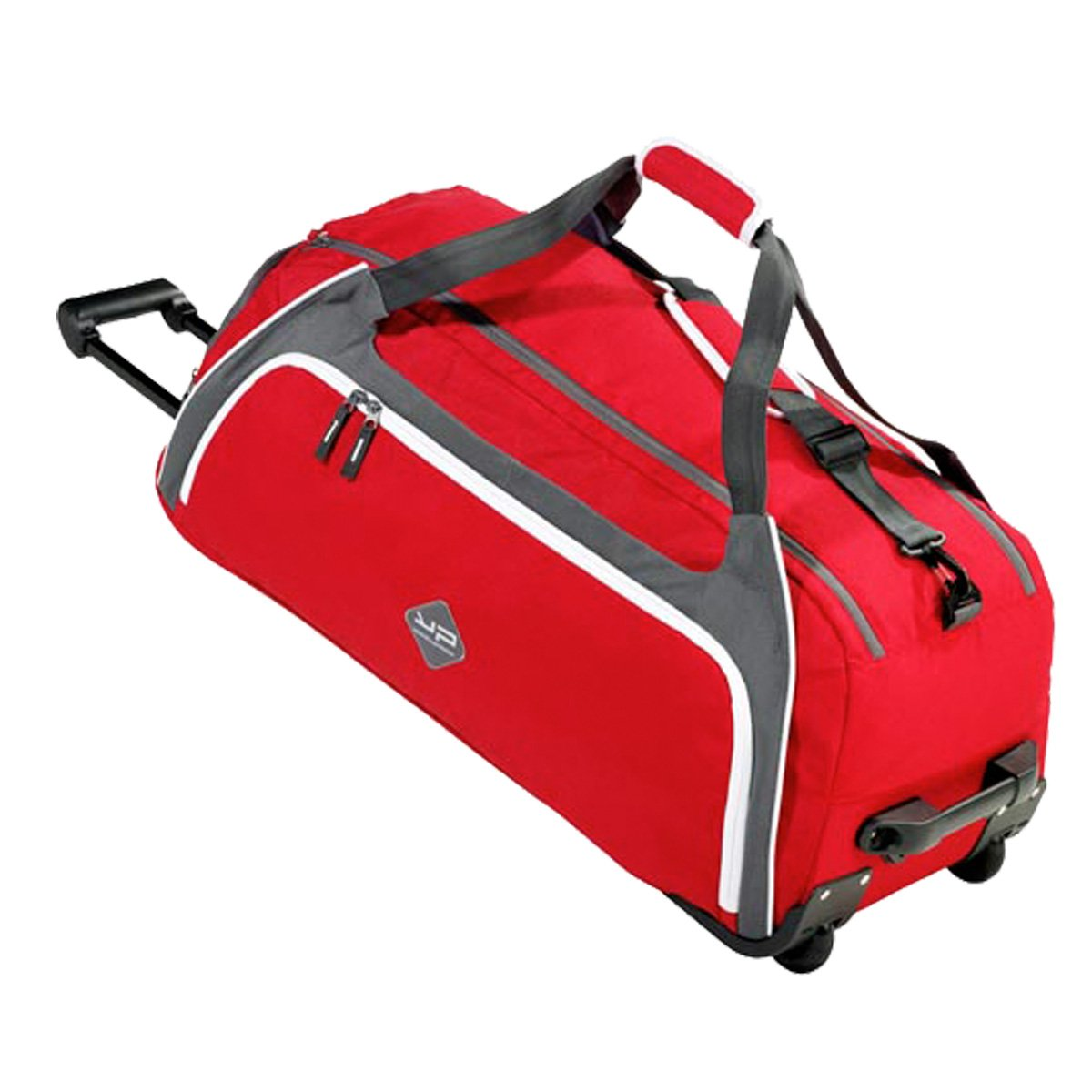 BODYPACK Sac de Sport 80L ou Sac de Voyage à roulettes Sac de Gym Grand Format Rouge Bodypack France 1571