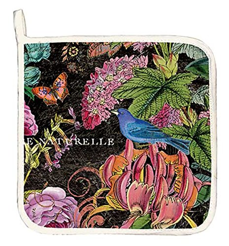 Michel Design Works Cotton Potholder, Botanical Garden