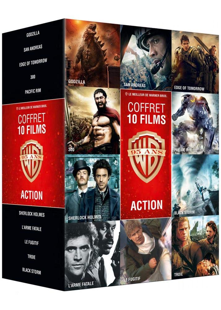 Collection de 10 films action Warner [Francia] [DVD]: Amazon ...
