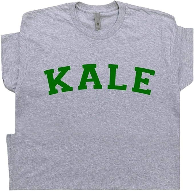 Kale T Shirt Camiseta de Universidad Vegetariana Vegana Yeah Funny Reciclar Yale Yoga orgánicos para Hombre para Mujer Kids Shirtmandude