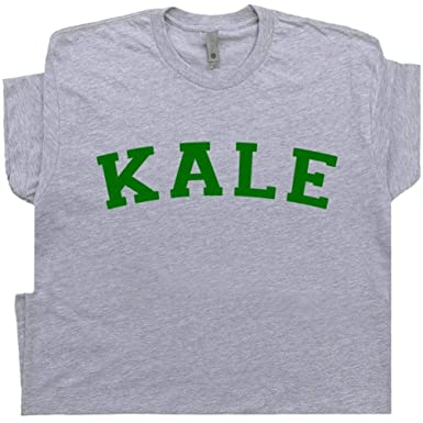 41d5a632c S - Kale T Shirt University Vegetarian Shirts Yeah Tee Vegan Gardening Gift  for Recycle Yale