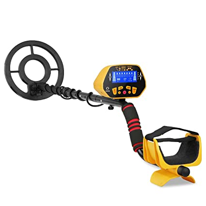 CANWAY GC-1028 Metal Detector with Pinpoint Function for Kids, High Accuracy Gold Hunter