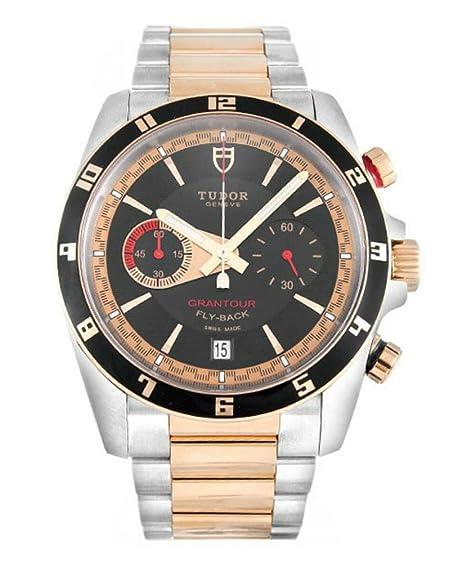 Hombres de Tudor GRANTOUR Cronógrafo Flyback - acero y oro rosa reloj 20551 N-95731: Tudor: Amazon.es: Relojes