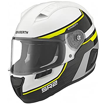 Schuberth SR2 Flash Amarillo Casco de Moto