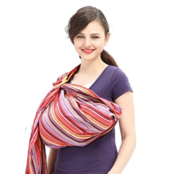 43b40f2879e Amazon.com   Mamaway Ring Sling Baby Wrap Carrier for Infant ...