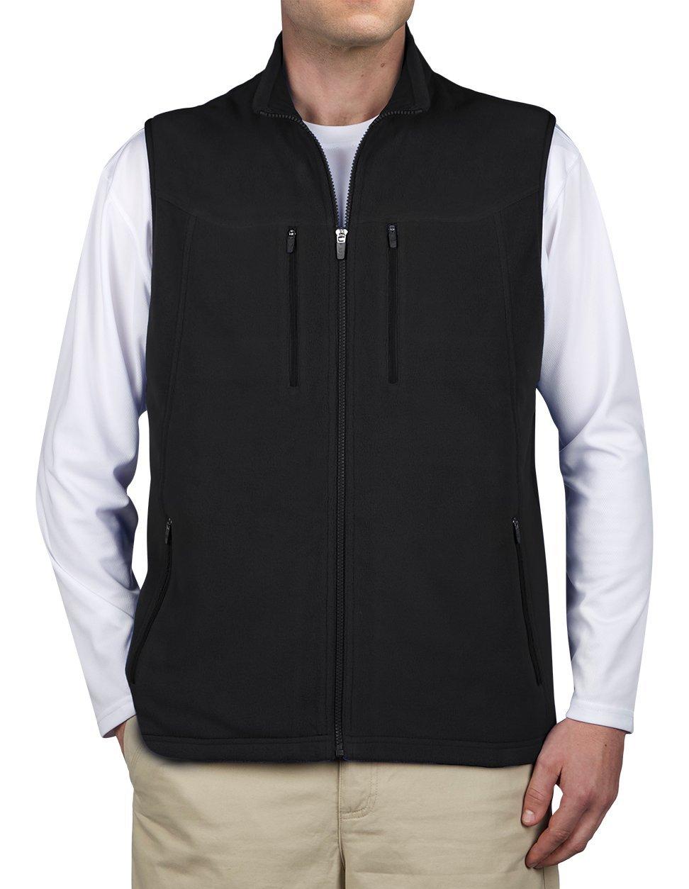 SCOTTeVEST Fireside Vest for Men - 15 Pockets - BLK L