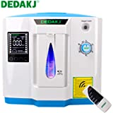 Oxygen Concentrator, 1-6L/min Adjustable Portable Oxygen Machine for Home and Travel Use, AC 110V Humidifiers - Blue, DDT-1B