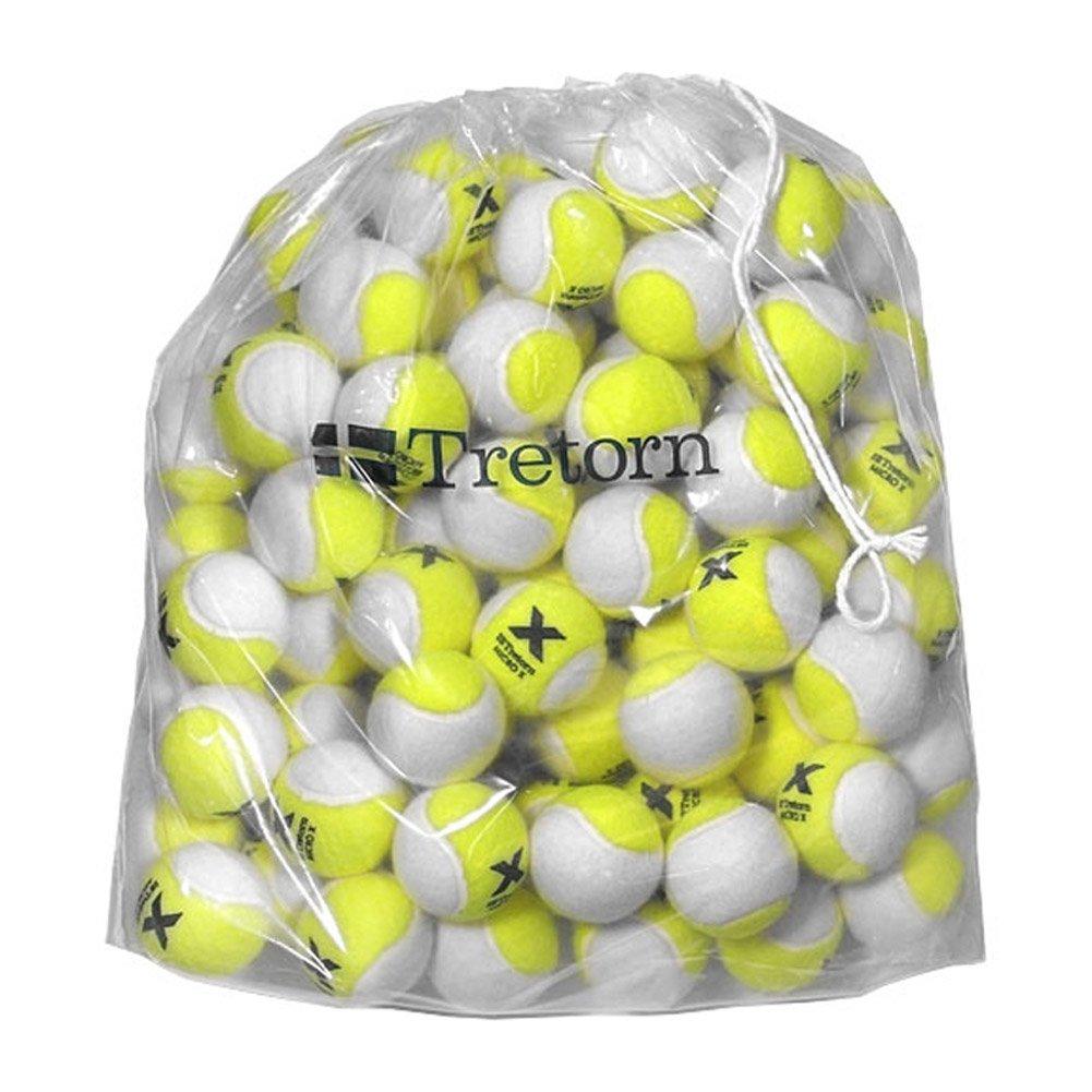 Tretorn Micro-X (2-Tone) Pressureless Tennis Balls (Bag of 72 Balls)