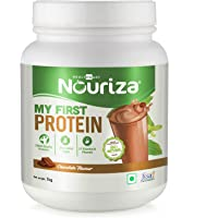 Nouriza My First Protein, Beginners Protein with Whey & Casein, Chocolate, 1 Kg