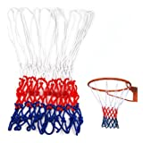 Romote Standard-Durable Nylon Basketball Goal Korb-Netz Netting Rot/Weiß / Blau Sport