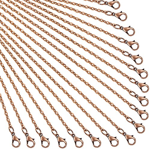 Expert choice for copper chains for necklaces 24