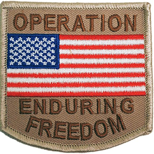 Operation Enduring Freedom Patch Brown 3