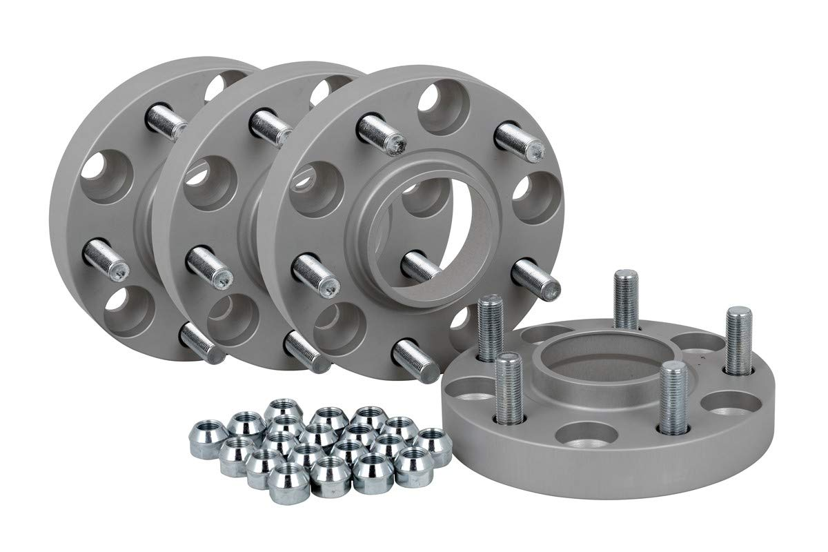 T/ÜV-Teilegutachten inkl 20 mm pro Scheibe // 40 mm pro Achse Spurverbreiterung Aluminium 4 St/ück