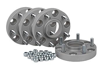 incl T/ÜV-Teilegutachten Spurverbreiterung Aluminium 2 St/ück 20 mm pro Scheibe // 40 mm pro Achse