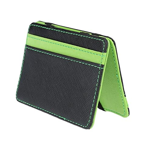 Slim Portafoglio Magico - Caso Titolare Della Carta di Credito ID - Super  Slim Fermasoldi 6012fbf79d40