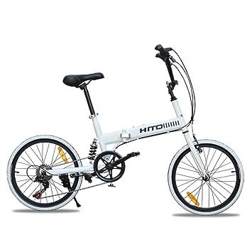20 pulgadas Bicicleta plegable Amortiguador Off-road El neumático Bicicleta de montaña Bicicleta de señora