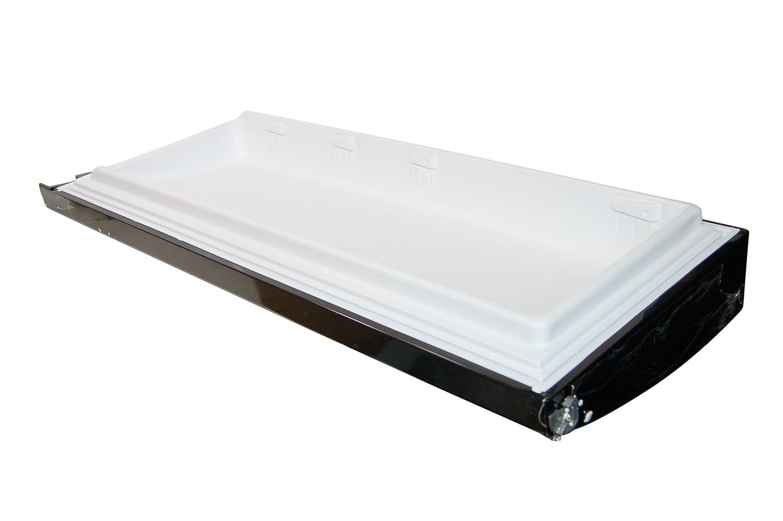 Hotpoint frigorífico congelador negro puerta de la nevera. Genuine ...