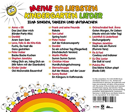 Various Artists Meine 20 Liebsten Kinder Amazoncom Music