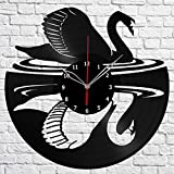 Swan Bird Vinyl Record Wall Clock Fan Art - Best Reviews Guide