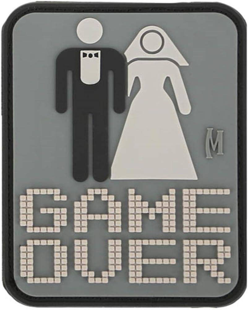 Maxpedition Gear Game Over Patch, árido, 2 x 6.5 pulgadas: Amazon.es: Deportes y aire libre