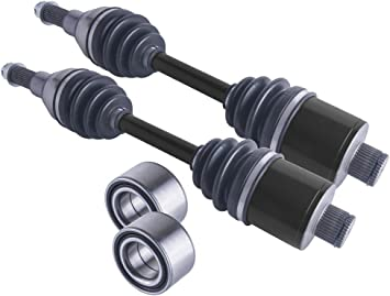 Heavy Duty Rear CV Axles Set for 2001 Polaris 500 Sportsman HO