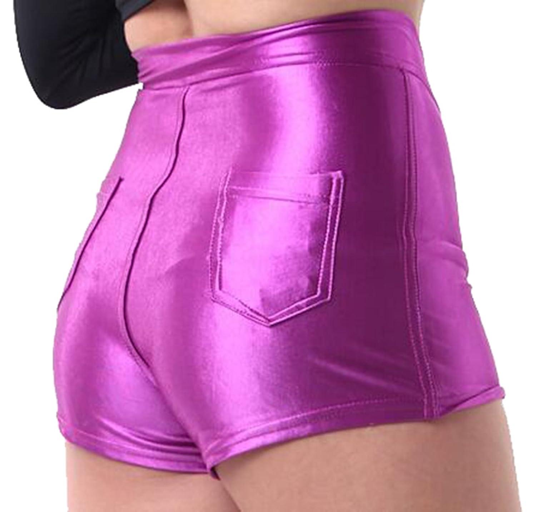 ASL Women Fashion Slim Fit Pinkycolor Mini Loose Sports Shorts