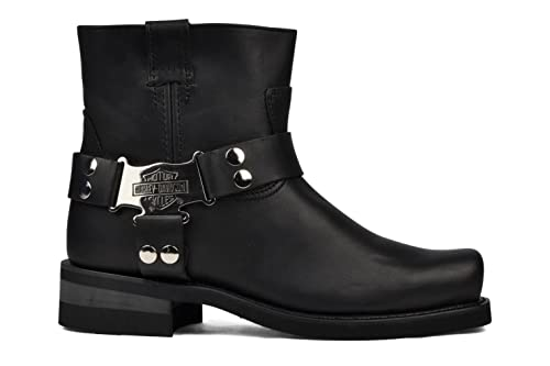 Harley Davidson - Botas para hombre negro negro: Amazon.es: Zapatos y complementos