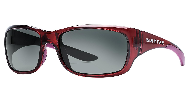 0200d0b523 Amazon.com  Native Eyewear Unisex Kannah Crimson Gray  Sports   Outdoors