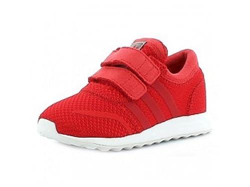 Adidas Scarpe Sportive Rosse Los Angeles Cf I - Rojo, 19: Amazon.es: Zapatos y complementos