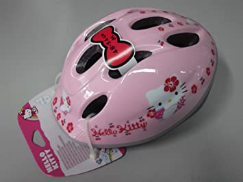 Casco Bicicleta Bimba Helmet Kids ironway Original Hello Kitty Pink Cubes TG.48 – 54