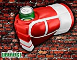 Uberfist Hockey Glove - Detroit | Beer Fist, Beer Koozie, Beverage Holder, Bottle, Can, Cup, Drinking Fist, Foam Beer Fist, Gift