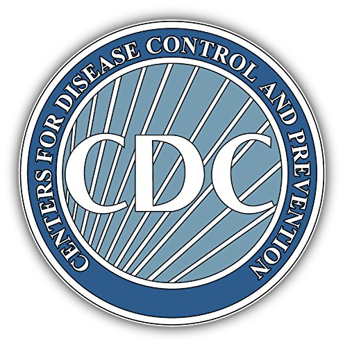 CDC Disease Control Centers Seal USA Art Decor Vinyl Sticker 5'' X 5''