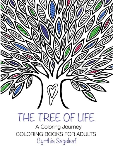 Trees Tranquil (The Tree of Life: A Coloring Journey: Coloring Books for Adults)
