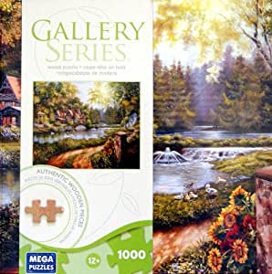 Amazon.com: GALLERY SERIES AUTHENTIC WOOD PUZZLE Summer