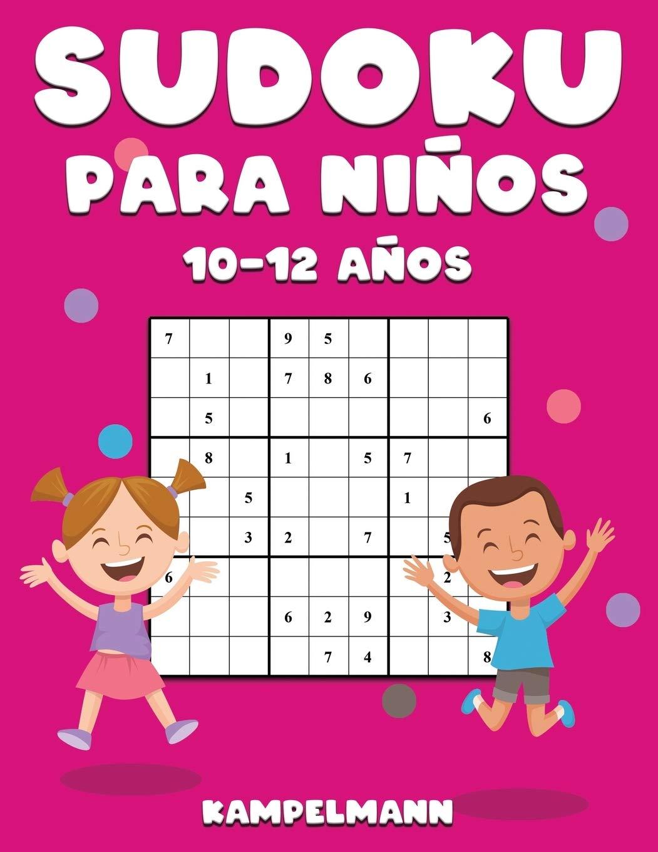 Sudoku Para Niños 10-12 Años: 200 Sudoku Large Fáciles de Resolver ...