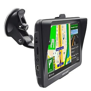 GPS para Coche con Pantalla Táctil HD de 7 Pulgadas Nüvi Reproductor Multimedia Navegador GPS con