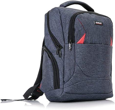 Unisex Backpack Blue Stars Design Lightweight Water Resistant Front Pocket