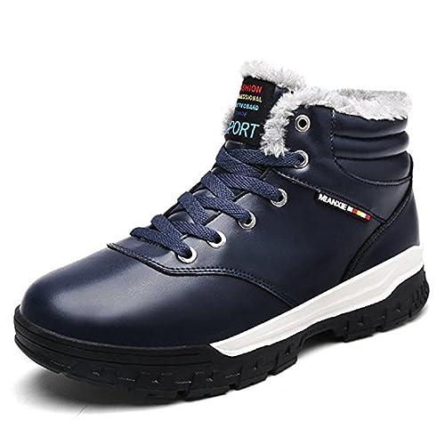 Botines Hombres Invierno Calentar Botas De Nieve Botines para Hombre Zapatos: Amazon.es: Zapatos y complementos