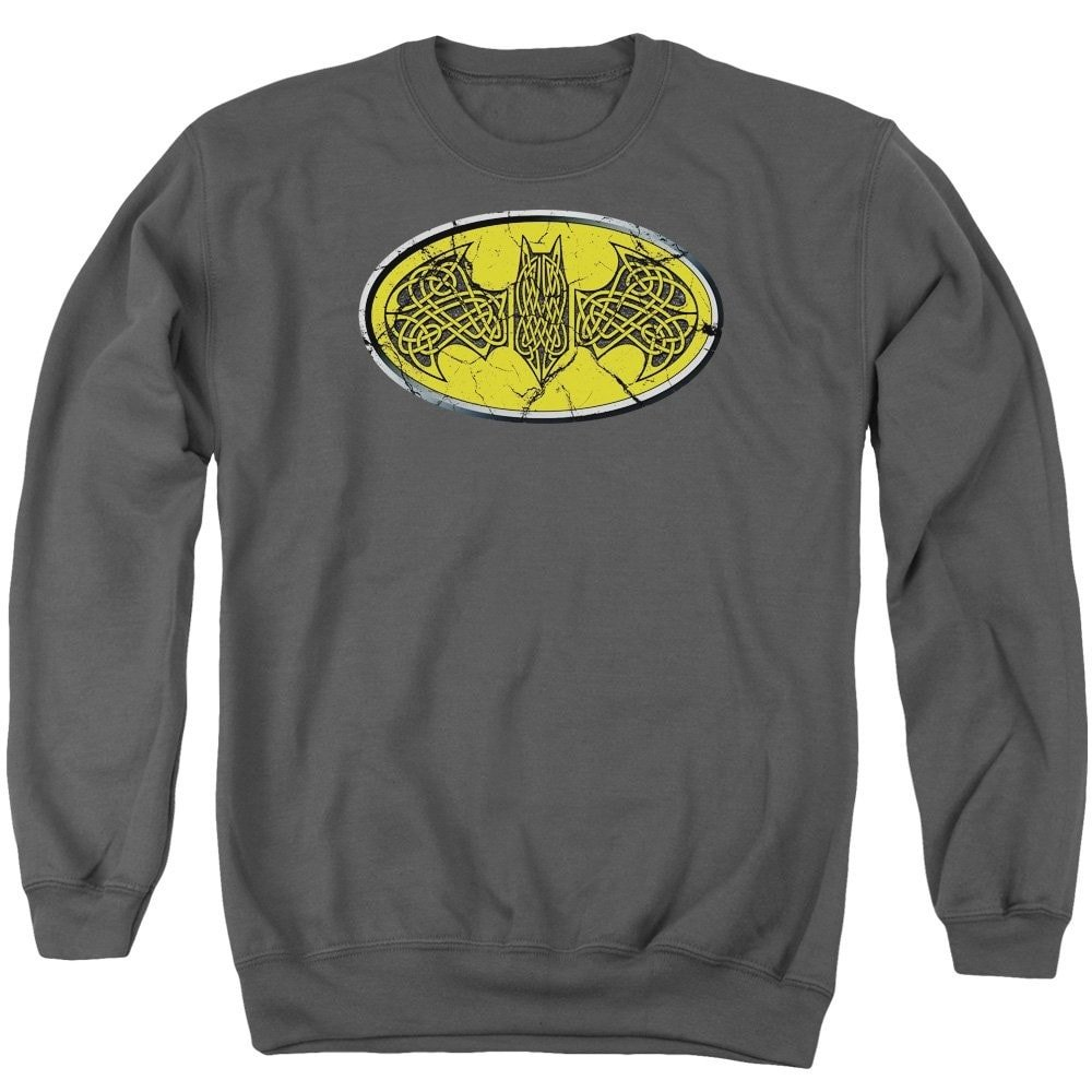 Celtic Shield Adult Crewneck Sweatshirt Batman