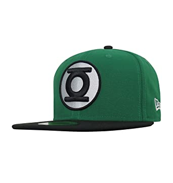 31a76c5427814 Green Lantern Hal Jordan 59Fifty Fitted Hat at Amazon Men s Clothing ...