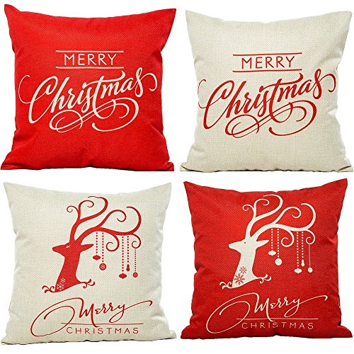 HOSL Christmas Cotton Decorative Cushion product image