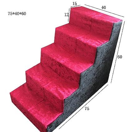 JXXDDQ Escalera de mascotas Escalera de Cama Escaleras para Perros Gato Juguete Escalera para Perros Escaleras