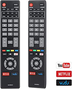 Gvirtue New NH409UD Replacement Remote Control fit for Magnavox LED Smart HDTV TVSub NH419UD NH400UD NH402UD NH404UD NH405UD NH401UD NH410UP NH410UD NH416UP NH424UP NH425UD (1- Pack only)
