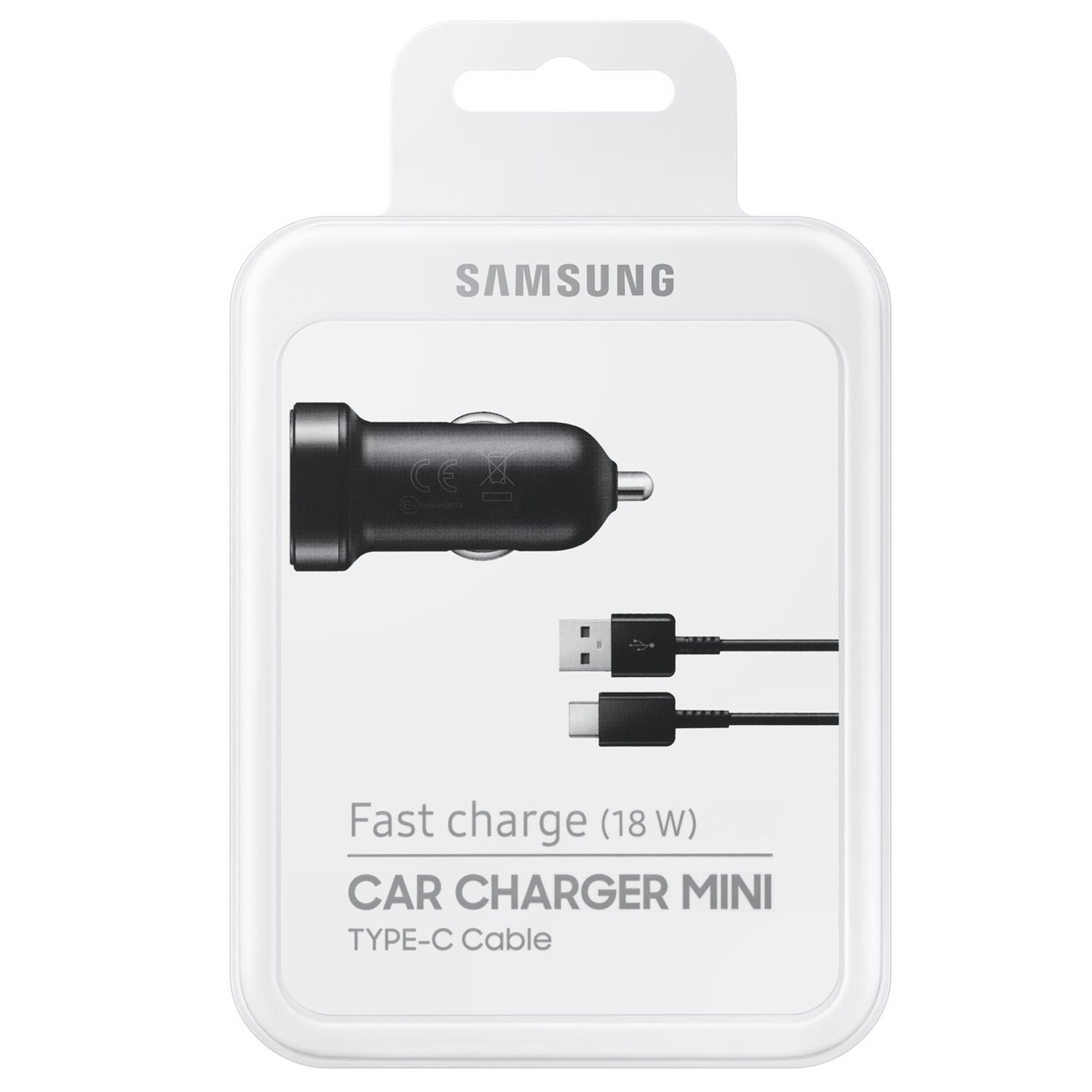 Samsung Fast Charge USB-C Certified Refurbished Mini Car Charger USB Type C