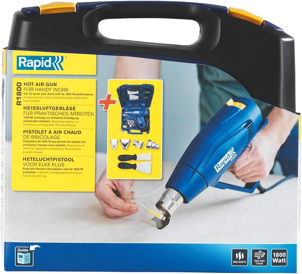 box Pistolet /à air chaud Rapid R1800