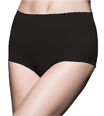 b70b9c0206 DODOING Women Butt Padding Panties Underwear Butt Hip Enhancer Booty Padded  Pads Shapewear Black