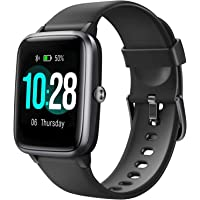 """Letsfit Smart Watch, Fitness Tracker with Heart Rate Monitor, Activity Tracker with 1.3"""" Touch Screen, IP68 Waterproof…"""