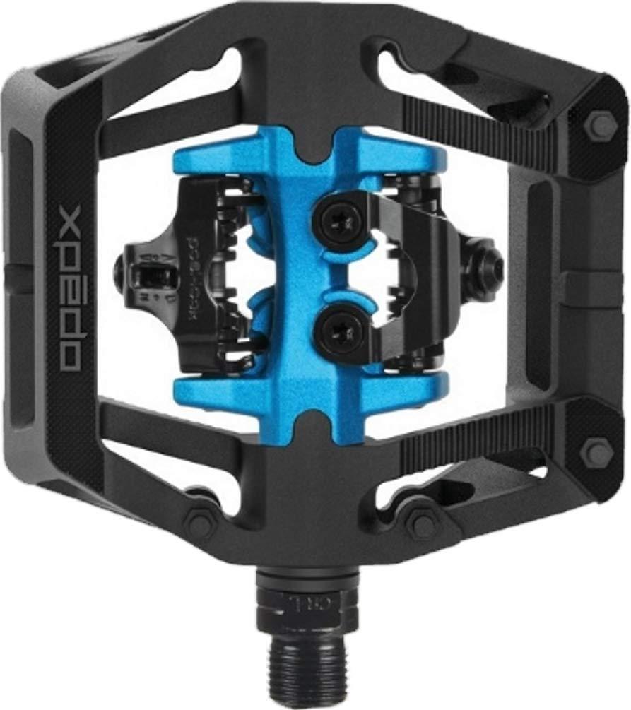 Xpedo Pedal Clipless GFX Neo 9/16Zoll XGF03NC Schwarz Blau Fahrrad